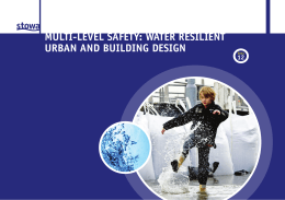 multivlevel safety: water resilient urban and building