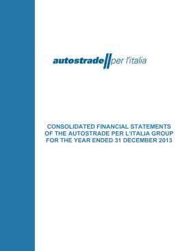 Consolidated financial statements 2013