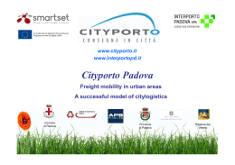 Cityporto presentation in English