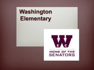 PBIS / 8-Step - Washington Elementary School
