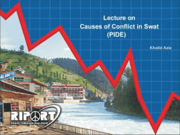 Causes of Conflict in Swat Dec 2011 PIDE-3