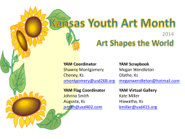 to view the 2014 YAM Scrapbook! (PPT)