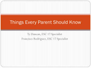Things Every Parent Should Know