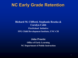 Early Grade Retention Powerpoint