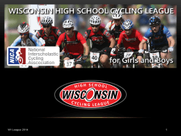 Minnesota High School Cycling League Meeting