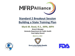 Reed Presentation - MFRPA 2014 - Home