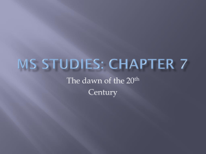 MS STUDIES: Chapter 7