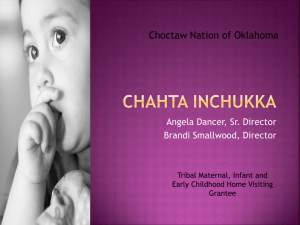 CHAHTA INCHUKKA - National Indian Health Board
