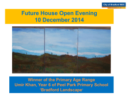 Future House Open Evening