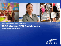 TSDS Dashboards for Administrators