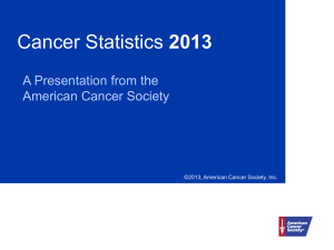 PPT - American Cancer Society