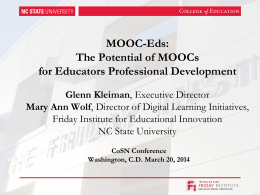 Click here to view - MOOC-Ed