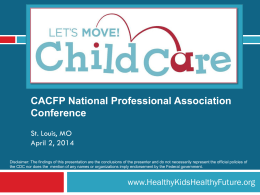Let`s Move Child Care