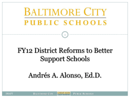 team - Baltimore City Public Schools
