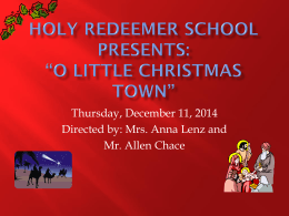 Christmas Concert Powerpoint