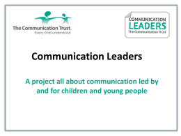 here - The Communication Trust