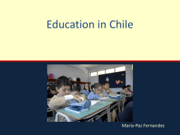 Public Education in Chile