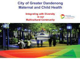 Intergrating with diversity in our multicultural community