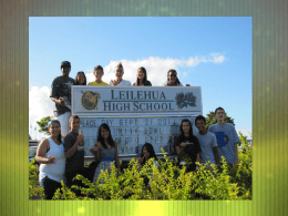Leilehua PEP Bullying Presentation