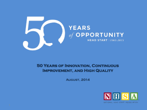 50 Years of Innovation, Continuous Improvement, and High Quality