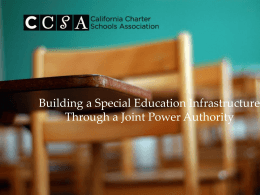 Joint Powers Authority - East Bay Charter Connect