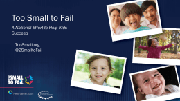 Too Small To Fail and the Bay Area Council`s Talk Read, Sing