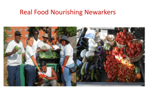 Newark Sustainability and Food Policies – Elizabeth Reynoso