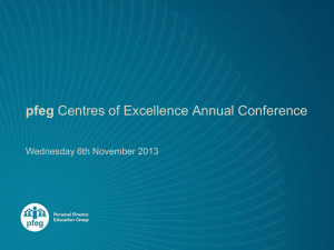 pfeg Centres of Excellence Annual Conference