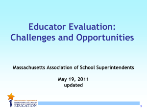 Educator Evaluation - Springfield Public Schools