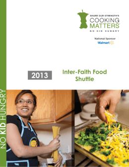 2013 Lead Partner Report - Inter