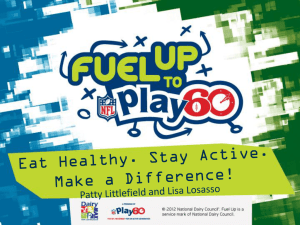 Fuel Up To Play 60 – AgriLife Training_2013