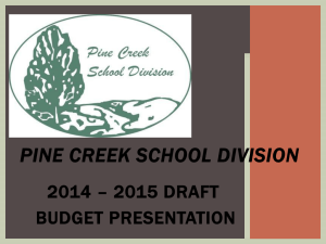 File - Pine Creek School Division