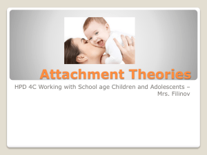 12. PP Attachment Theories