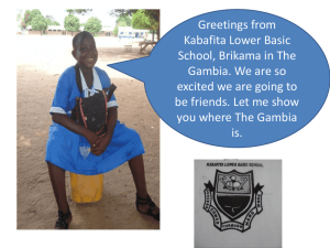 Gambia-powerpoint-1 - Ecclesall Infant School