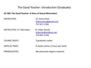 The Good Teacher Sto.. - leadershipcredit.info