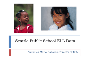 ELL Data Meeting: