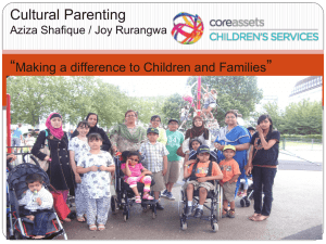 Oxford Cultural Parenting project