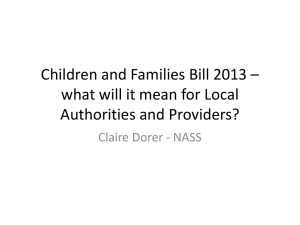 WS 2-2 Children and Families Bill 2013