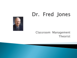 Dr Fred Jones - michelleharper