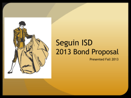 PPT - Seguin Independent School District