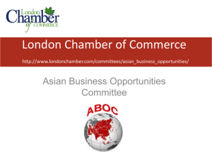 About ABOC - London Chamber of Commerce