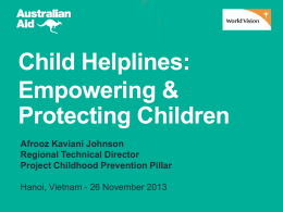 Project Childhood Prevention Pillar