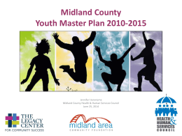 Presentation to Midland County Health & Human Services Council