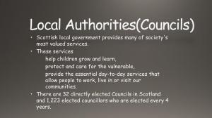 Local Authorities(Councils)