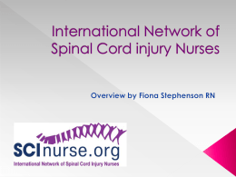 File - the International Network of Spinal Cord Injury