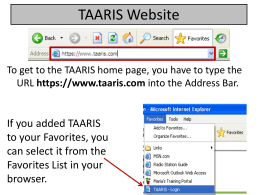 TAARIS Title I Instructional Staff v2