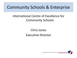 Community Schools & Enterprise