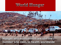 World Hunger - WordPress.com