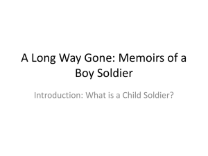 What is a Child Soldier