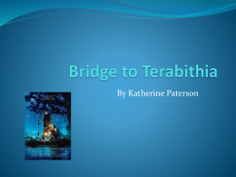 2013 Bridge to Terabithia